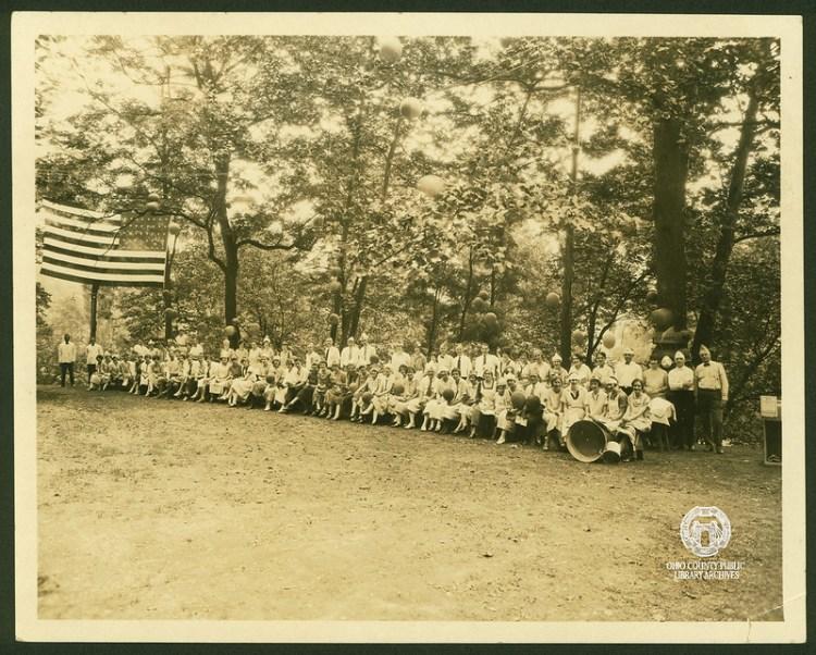 Sterling Drug company picnic