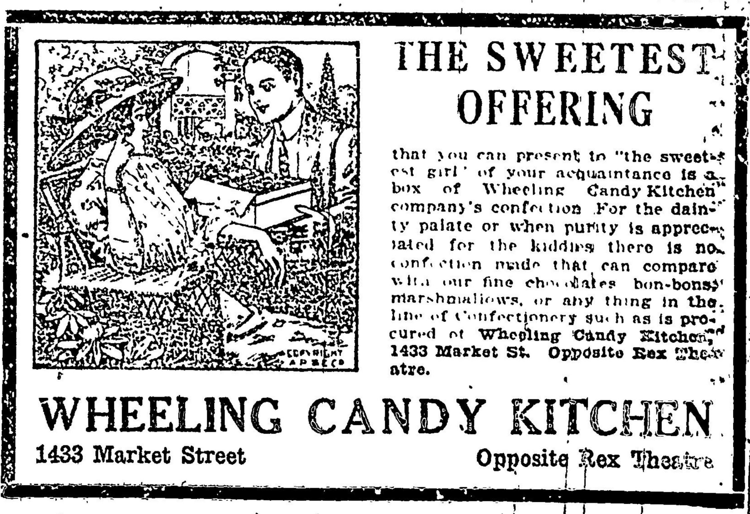 Wheeling Candy Kitchen