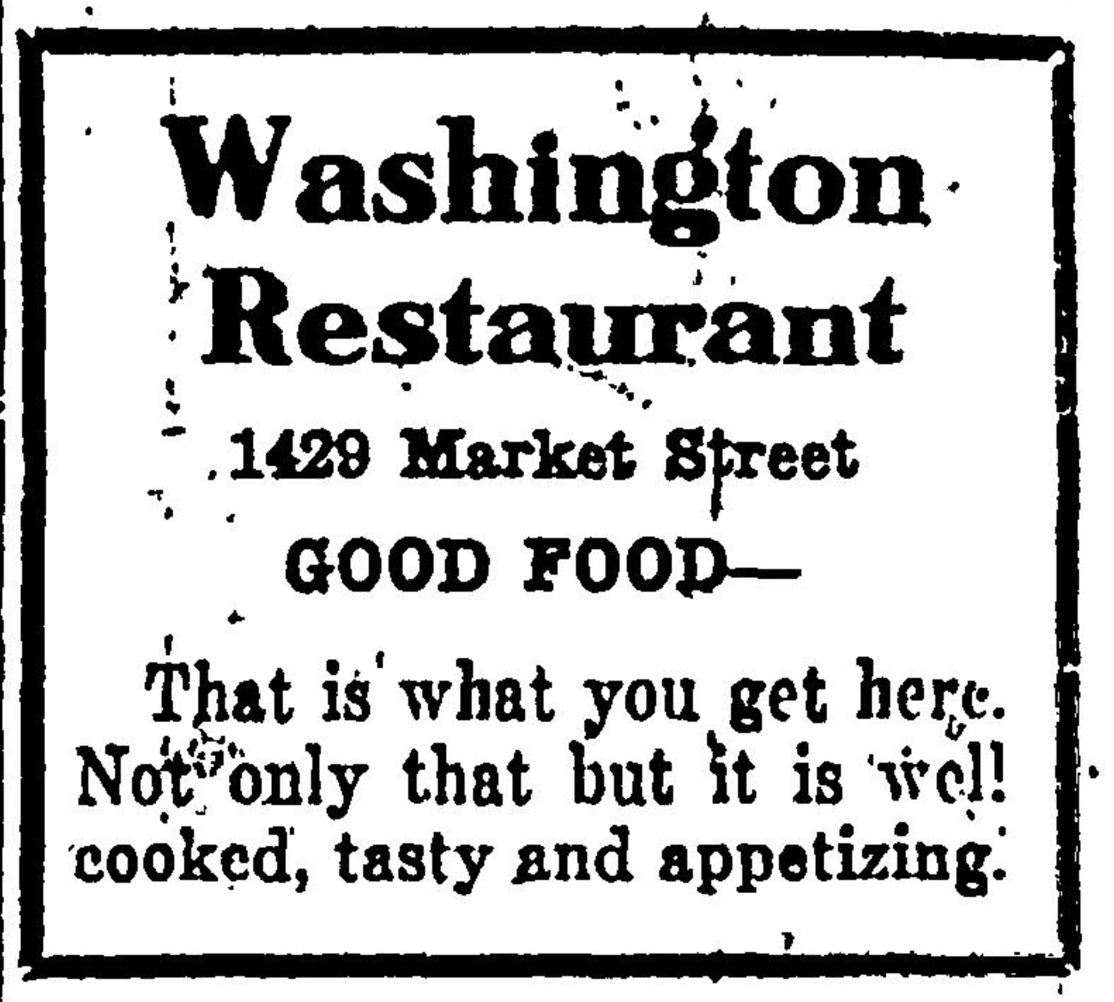 Washington Restaurant