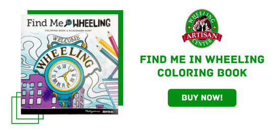 Find me in Wheeling Coloring Book