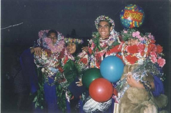 Saxons Graduate 1998