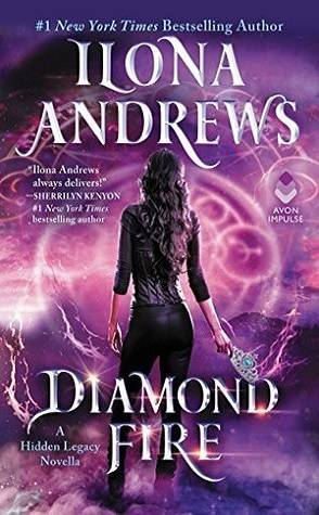 Can't Wait Wednesday: Diamond Fire by Ilona Andrews