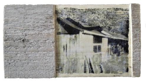 Riek foto op hout