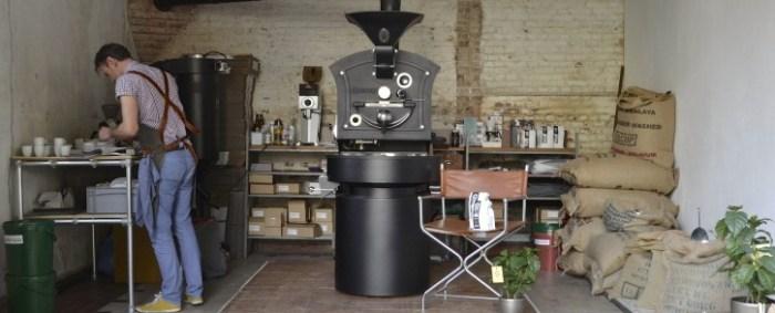 Koffiebrander OverHoop koffie