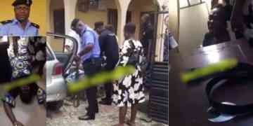 SHOCKING!! Man Collapsed As Wife Reveals Their Neighbor Is The Biological Father Of Her 3 Children In Lagos
