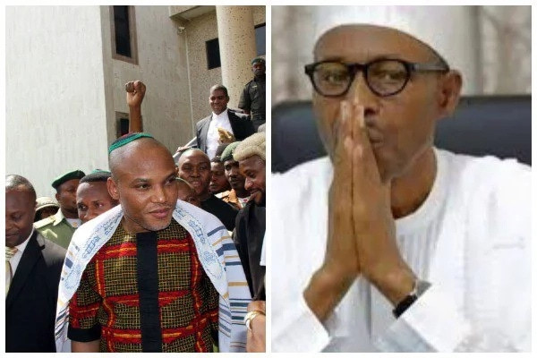 JUST IN!! Tension In Nigeria As Nnamdi Kanu Dares FG, Orders Total Shut Down Of Abuja, Lagos, North, South-East