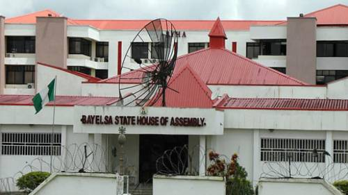 Impeachment plot : Bayelsa lawmakers takes over Assembly to resist actions