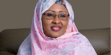 Aisha Buhari welcomes Nigeria's first baby of 2020
