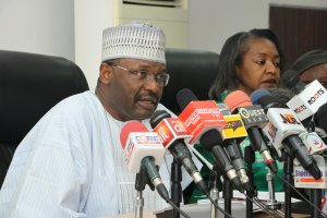 EXPOSED!! Top Politicians Mount Pressure On INEC Chairman Ahead Of Edo Gov'ship Election