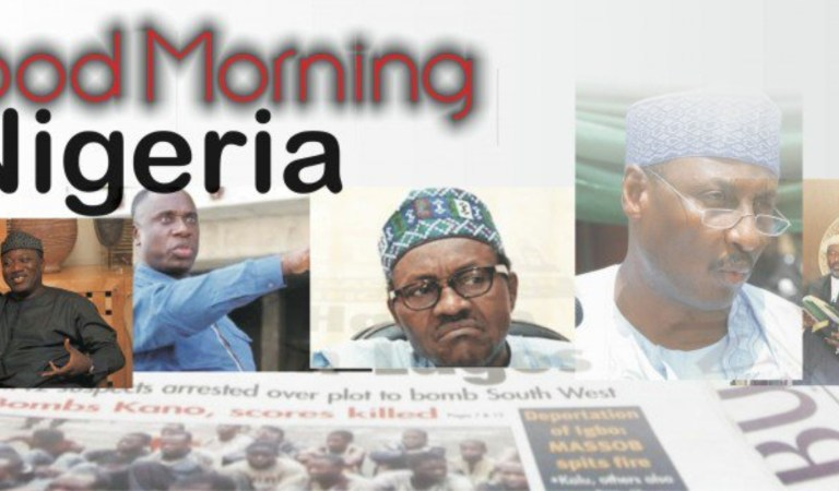 Hottest Newspaper Headlines for Saturday, Sept 12• Here Are The Major Nigerian Newspaper Headlines