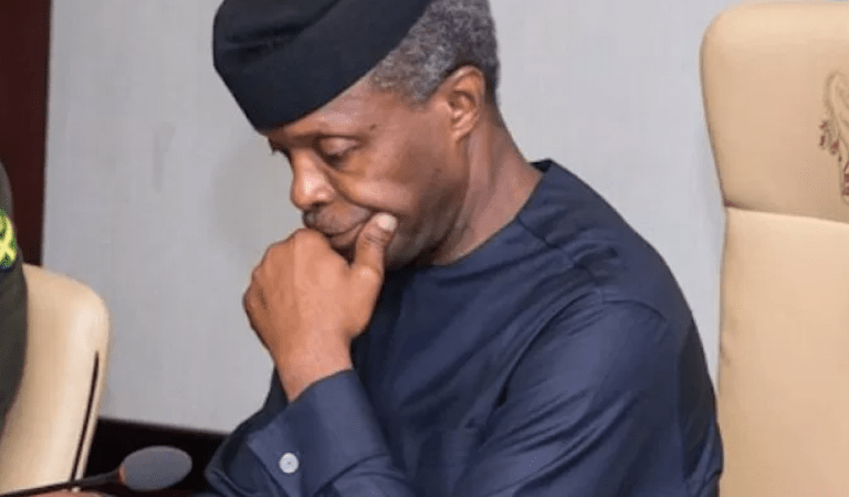 IT IS WELL O!! How Osinbajo's Ex-Aide Allegedly Collected N250M Without Executing Contracts Exposed