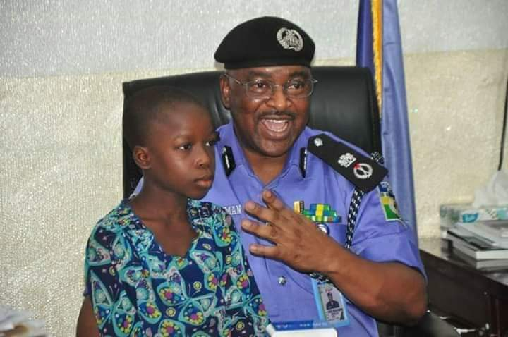 Enugu CP rescues maid maltreated by her 'heartless' madam captured in a viral video