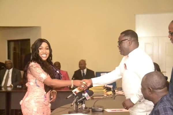 Your Award as 'Independent Newspaper Best Governor of the year, a proof of exceptional service — Betta Edu tells Ayade