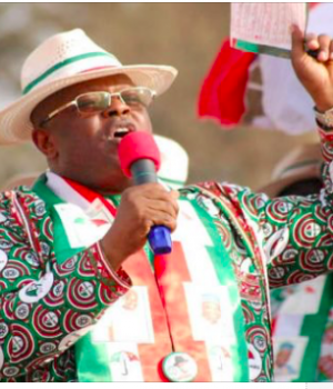 PDP blasts Umahi for endorsing Obaseki