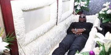 SHOCKING!! Charley Boy Prepares For His Death Even When He's Still Alive, Buys A Gucci Casket Worth N35m For Himself (Photos)