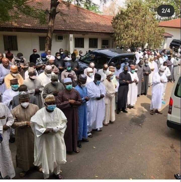 Social Distancing : Tope Akinyode Vows To Institute Criminal Proceedings Against Those Who Attended Abba Kyari's Burial