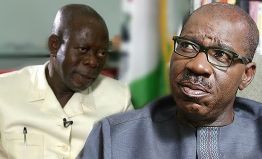 BREAKING!! Fresh Political Fight Begins In Edo As Obaseki Sends Strong Warning To Oshiomhle