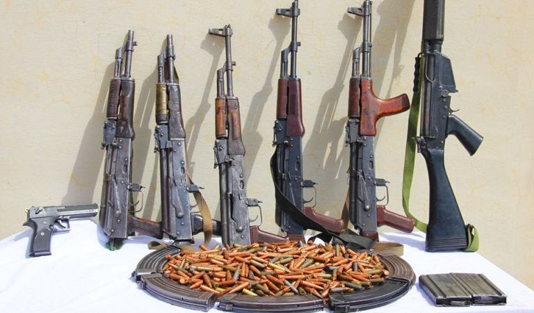 SHOCKING!! Tension In Delta As Police Discovered Six Assault Rifles Inside Church