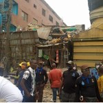 JUST IN!! Many Trapped, Some Feared dead As Building Collapses In Lagos