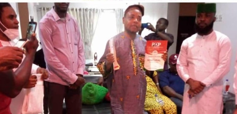 Cross River By-Election: Lukpata Picks Party Nomination Form, Optimistic Of Victory