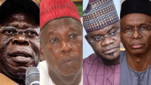 BREAKING: Tension As Oshiomhole, Kano, Kogi Governors, Others On US Visa Ban List, El-Rufai's Sanction Extended (FULL LIST)