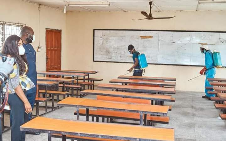 Schools Reopening: Cross River Govt Supervises Fumigation of Schools