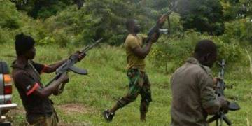 HOT!! Bandits Storm Military Baracks, Slaughtered 7 Nigerian Soldiers, Other Military Officers Scamper For Safety