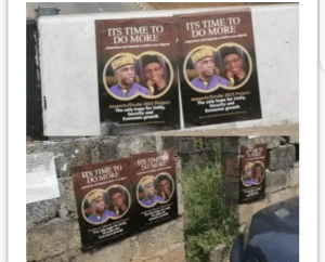 2023 Presidency: El-Rufai, Amaechi Campaign Launches With Posters