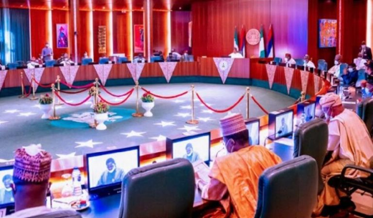 Insecurity: What President Buhari Told 36 State Governors At Yesterday's Meeting
