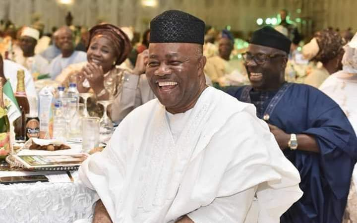 Chief Orok Duke, Etinyin Edet Wishes Senator Godswill Akpabio A Happy Birthday