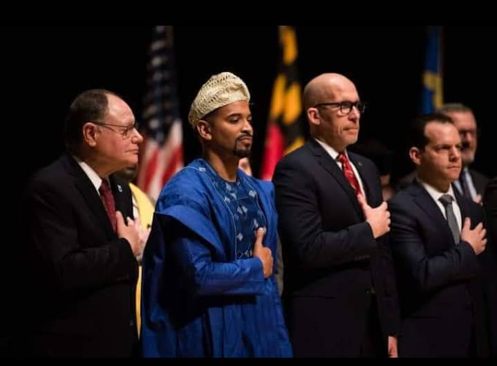 Nigerian Elected In The US Rocks 'Agbada' To Inauguration