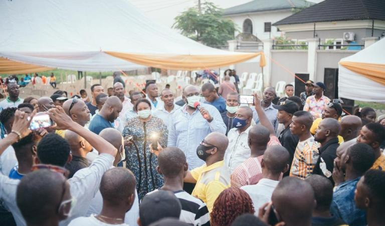C-River Finance Commissioner, Asuquo Ekpenyong Hold Odukpani People To An 'End of Year' Thanksgiving, Preaches Hope