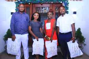 The Winners of the 'Dr Betta Edu Literary Competition' Receive Their Prizes (Photos)