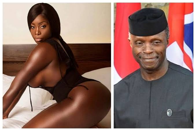 Nigeria's Vice President, Osinbajo In Big Trouble After American Pornstar Reveals What He Did To Her (Photos)