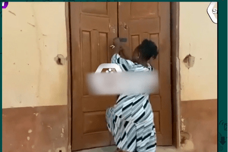 HOT VIDEO: Pastor's Wife Destroys Church Service, Locked Up Church, After She Finds Out That Her Husband Wants To Marry Another Woman