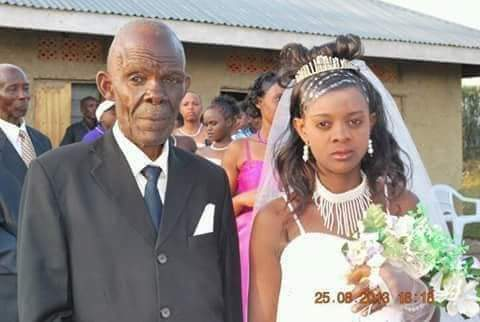 70-Year-Old Man Marries 18-Year-Old Girl In Imo State [photos]