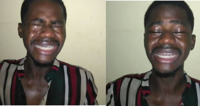 Nigerian Man Cries Uncontrollably After Court Orders Him To Divorce His Wife and Forfeit His Home to Her