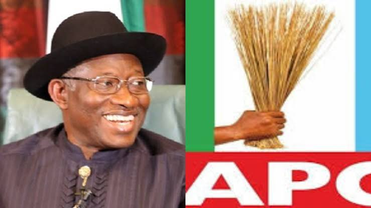 BREAKING!!! Goodluck Johnathan Finally Joins APC To Run For President In 2023