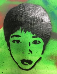 Weez Project Hong Kong Jamie Bruno Self Portrait Age 14