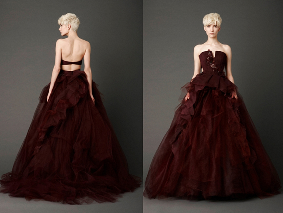 2013 Bridal Trends - Red Wedding Dresses