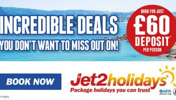 Jet2holidays – 10 Years of Real Package Holidays!