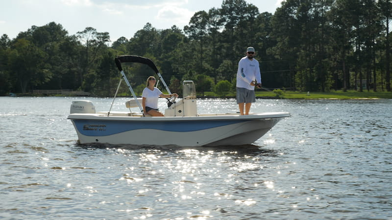 Carolina Skiff 17LS
