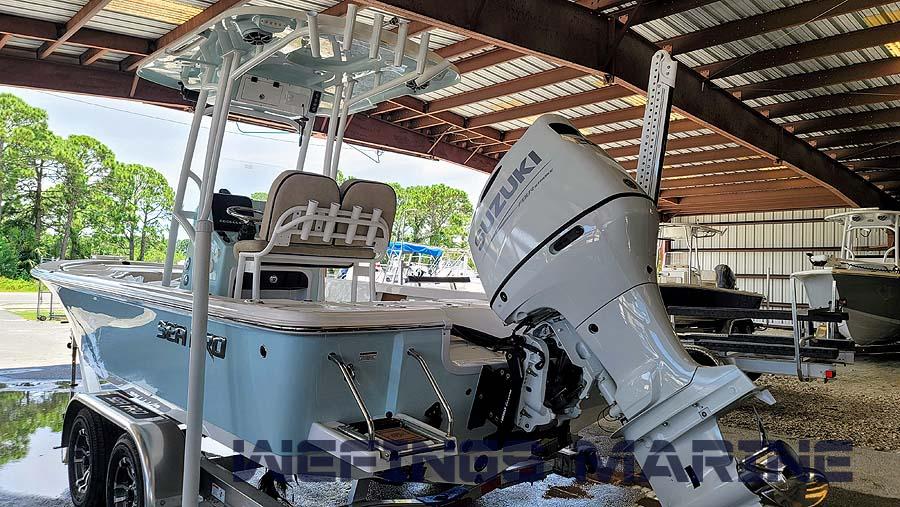 Sea Pro 228 Bay Ice Blue 2022 10