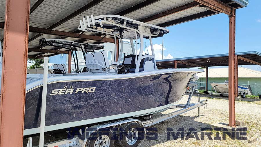 Sea Pro 259 Navy 2022 09