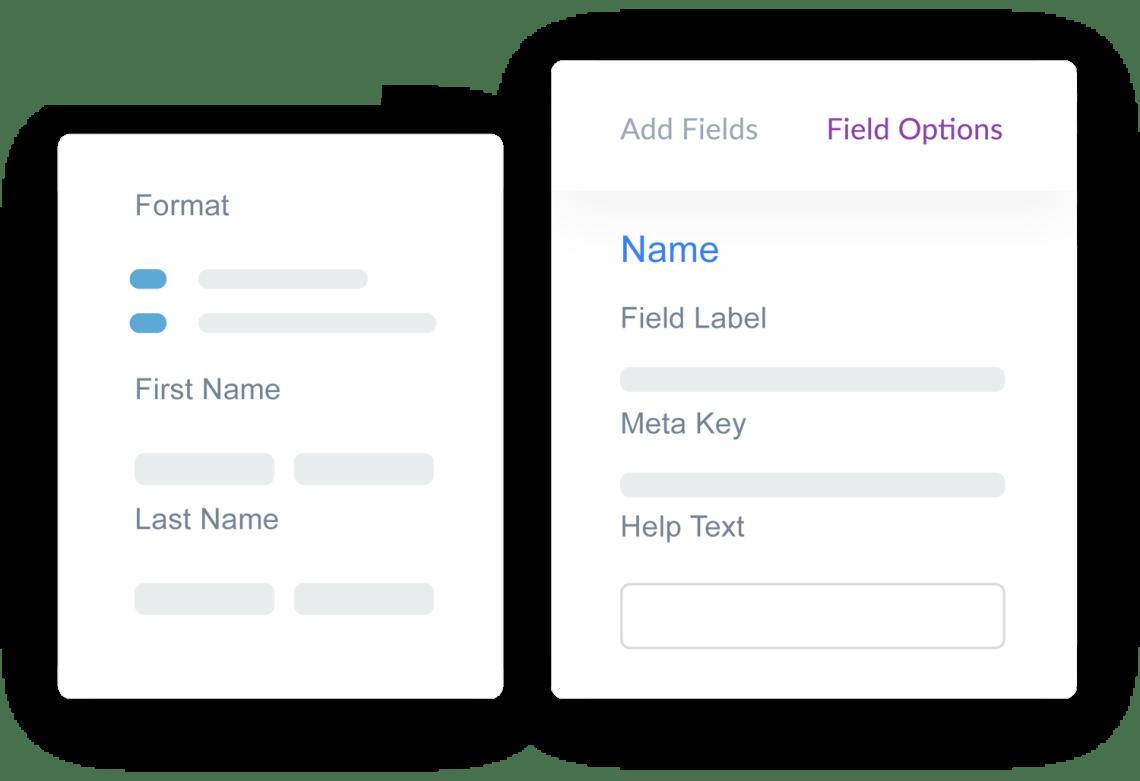weForms has WordPress Forms with Custom Fields