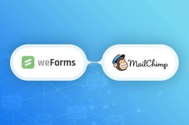 weForms provides a MailChimp and WordPress integration for your contact forms