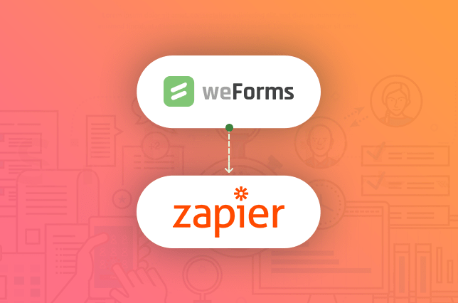 weForms provides a Zapier and WordPress integration for your contact forms