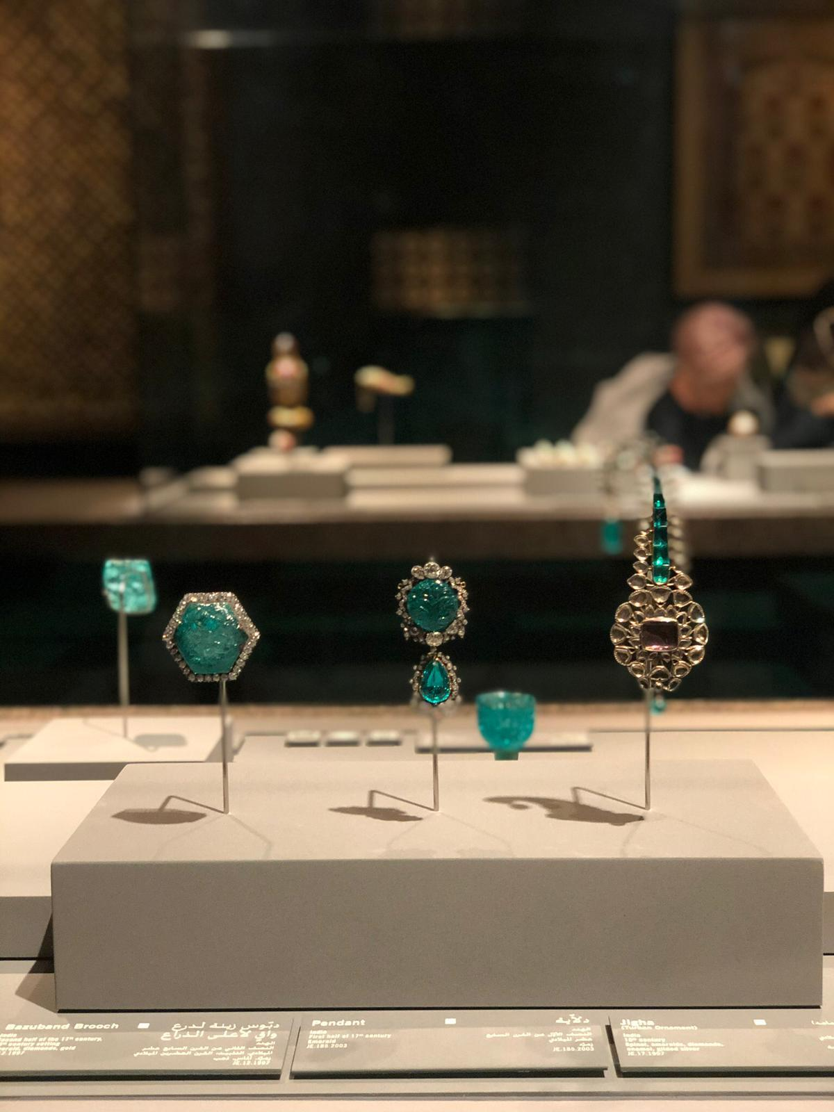 Jewellery in the museum