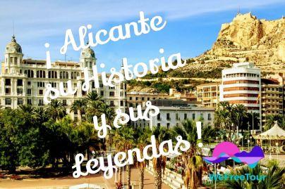 Descubre la historia y leyendas, recorriendo el Casco Antiguo de Alicante, de la mano de un guía local