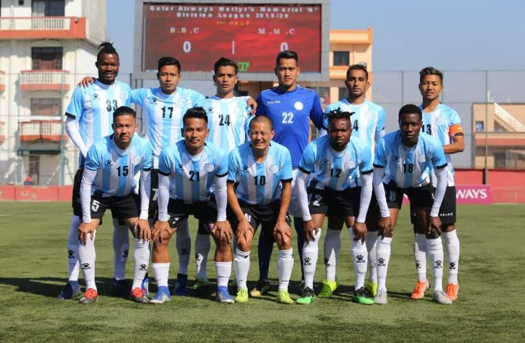 Manang plays Goalless draw with Sherpa